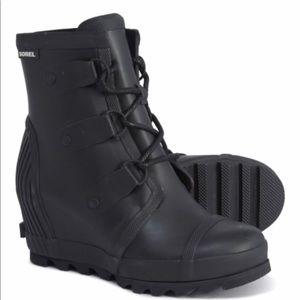 Sorel Joan Rain Wedge Boot
